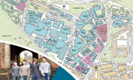Campus and city maps