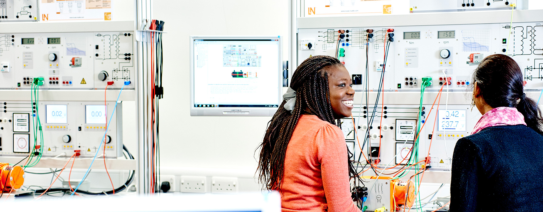 Students in the School of Electrical and Electronic Engineering