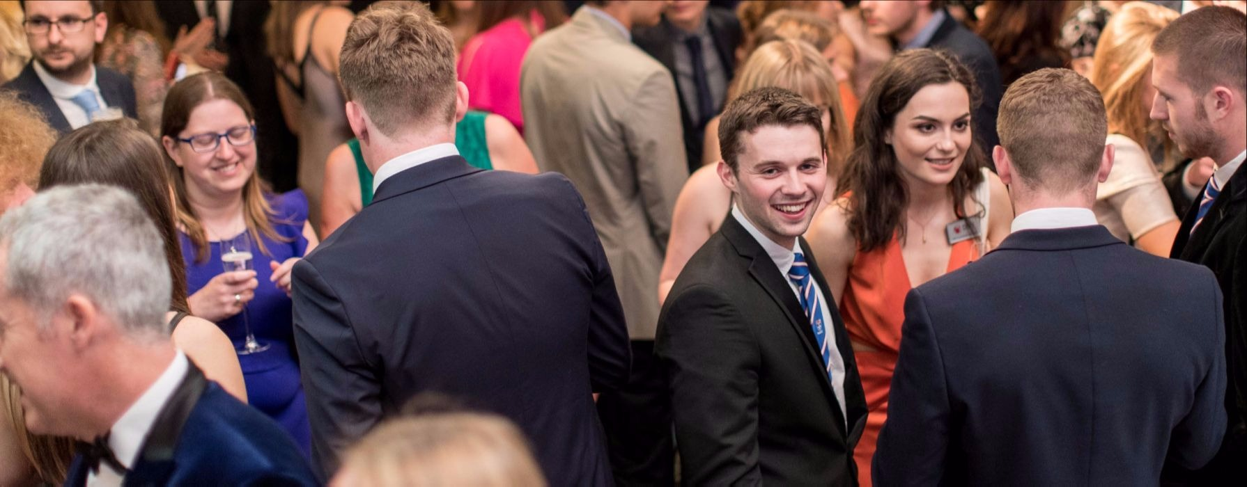 photo taken at Pride of Newcastle University awards showing students celebrating