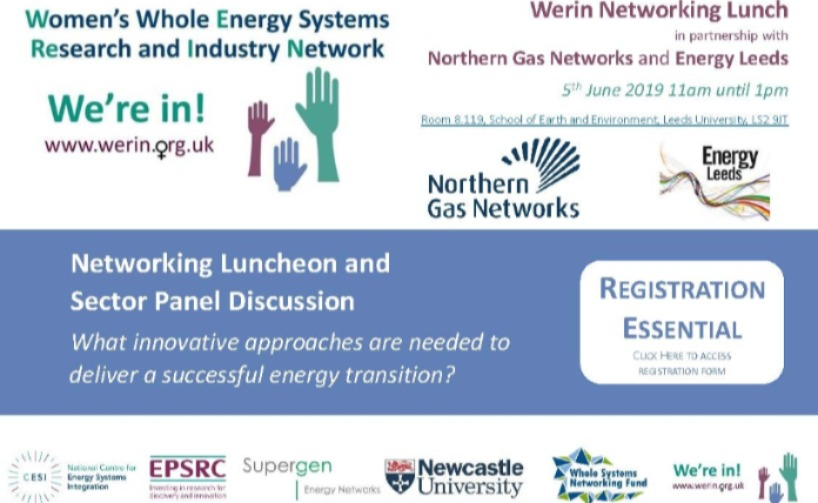 WERIN Event with Northern Gas Networks and Energy Leeds