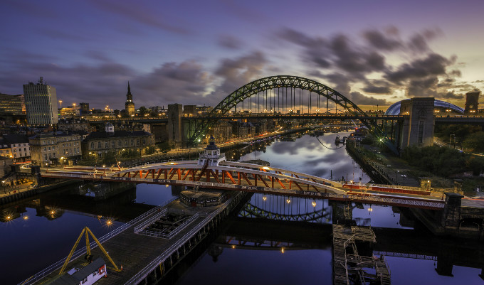 Newcastle upon Tyne.