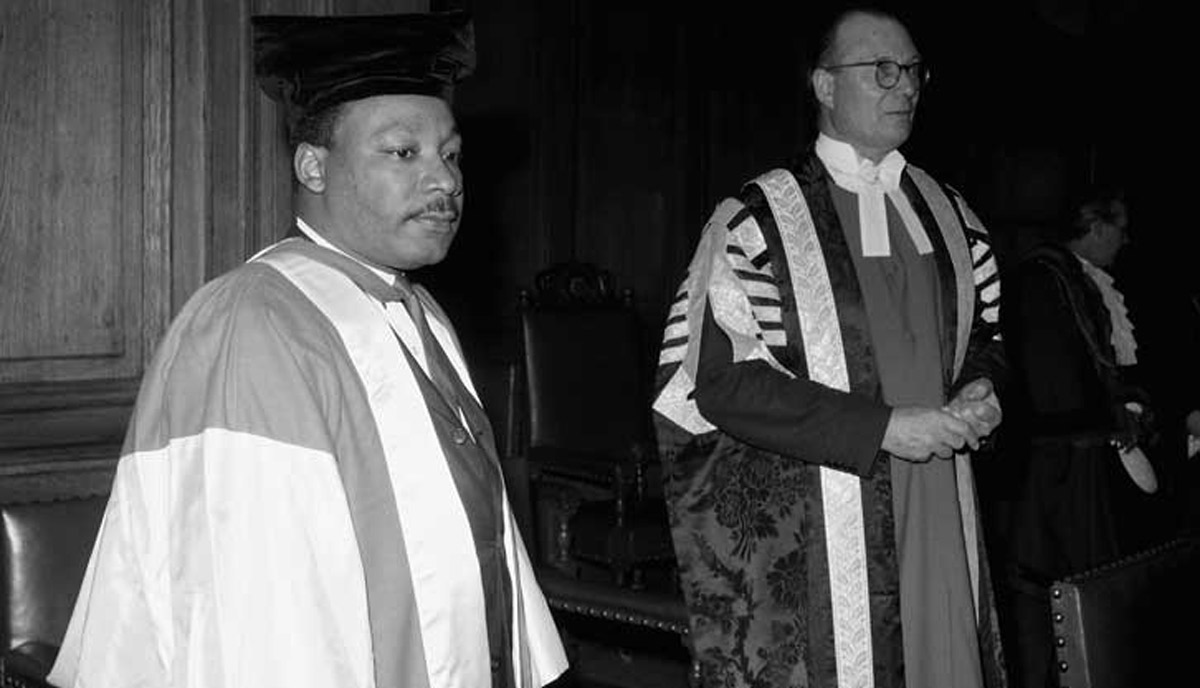 Martin luther king graduation photo Martin Luther King Jr s Death, as Remembered by His Father Time