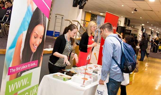 The University Careers Service hold a variety of recruitment fairs throughout the academic year.