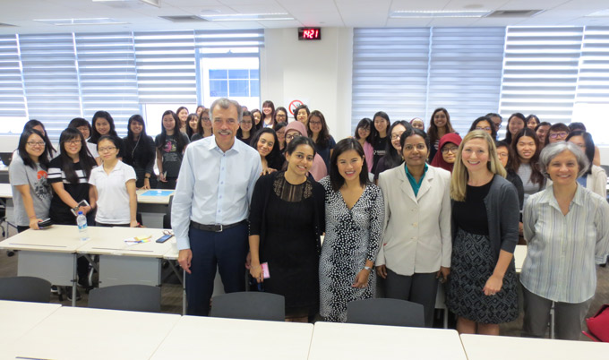International Women's Day - Singapore staff