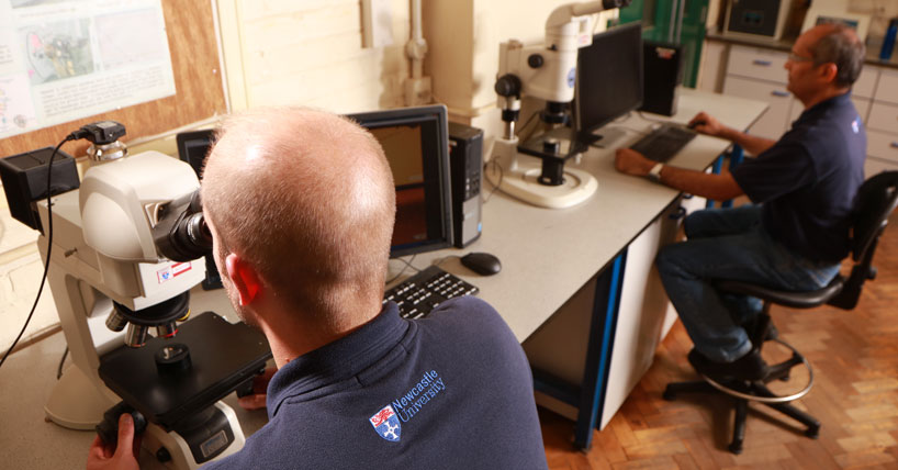 The expertise of our highly skilled technicians make possible the practical aspects of research, teaching and learning