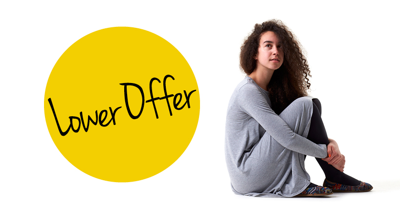 You could receive a lower conditional offer through the PARTNERS  programme