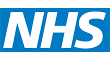 National Health Service logo.