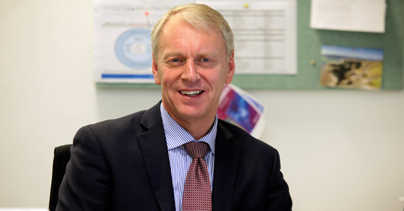Professor Chris Day, Newcastle University's Vice-Chancellor and President,