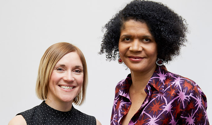 Dr Lyndsey Butterworth with MP Chi Onwurah