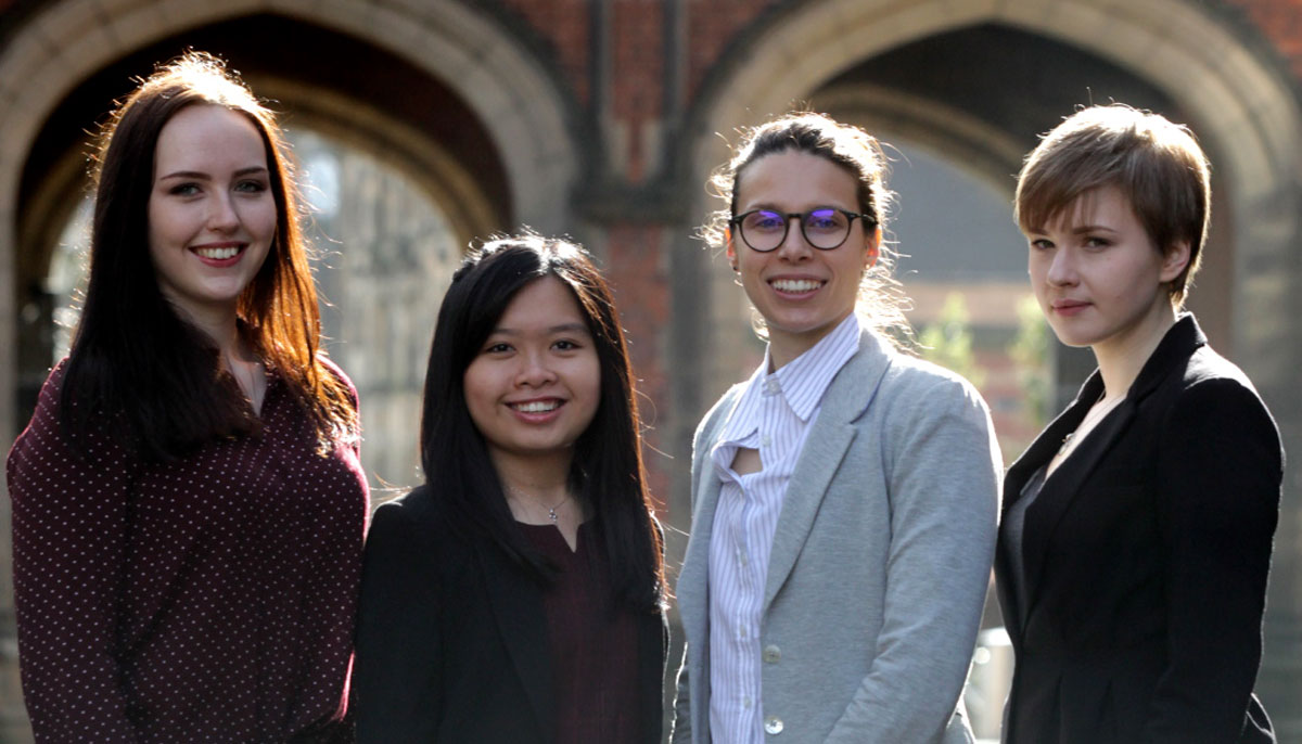STEM for Britain candidates from Newcastle University