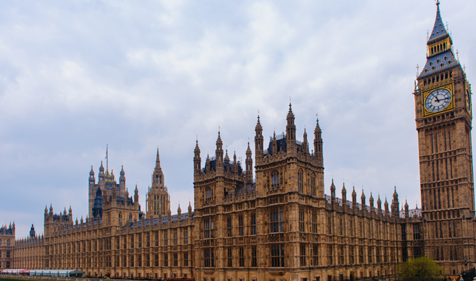 An image of the Houses of Parliament