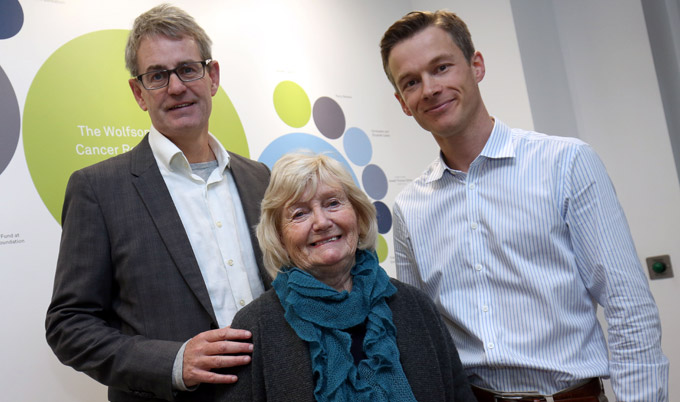 Mark Robson, Lady Elsie and Dr Simon Bomken