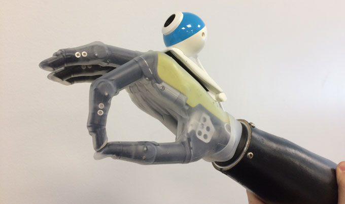 A new generation of prosthetic limbs which will allow the wearer to reach for objects automatically