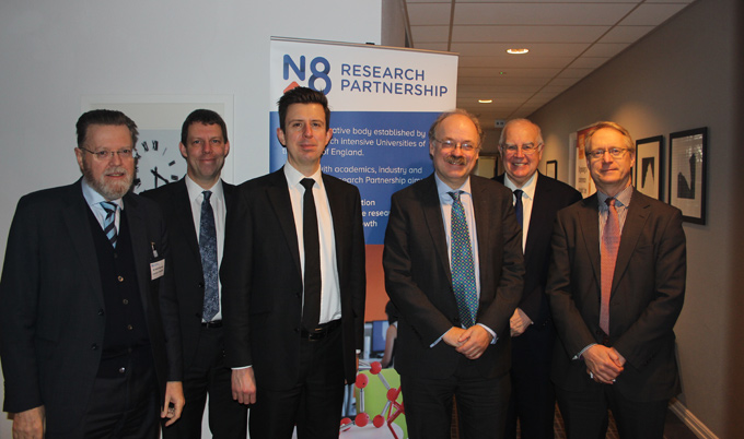 Sir Mark Walport at N8 event
