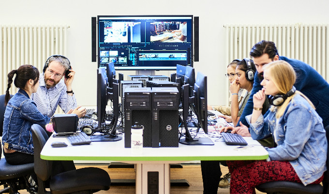 Our researchers and students can indulge in creative practice using the equipment within our Culture Lab.