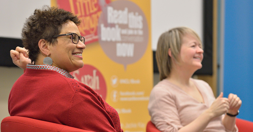 Jackie Kay in conversation with Sarah Waters