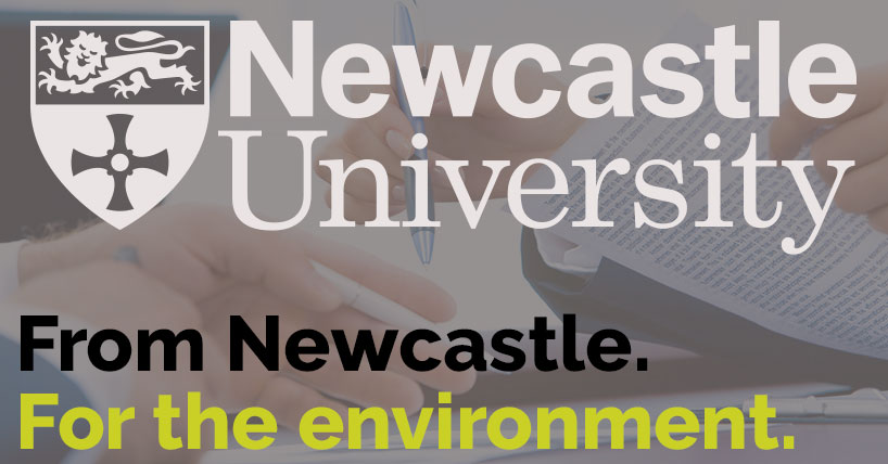 From Newcastle. For the environment.