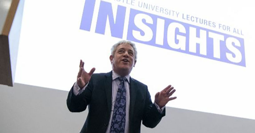 Insights public lectures: John Bercow
