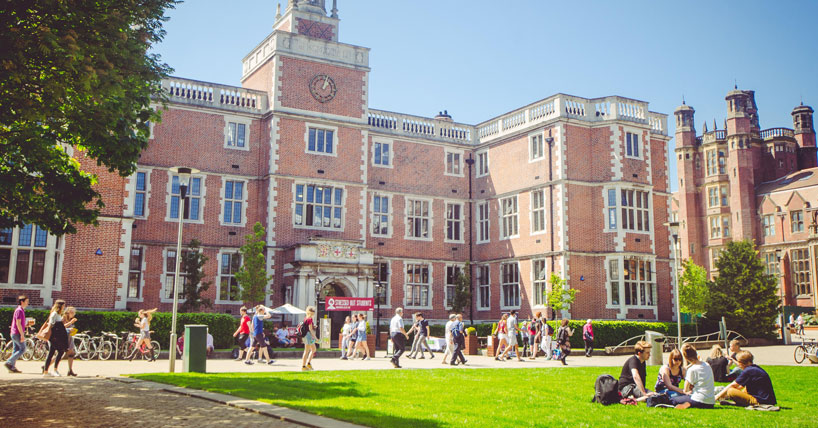 Exterior shot of the Students' Union