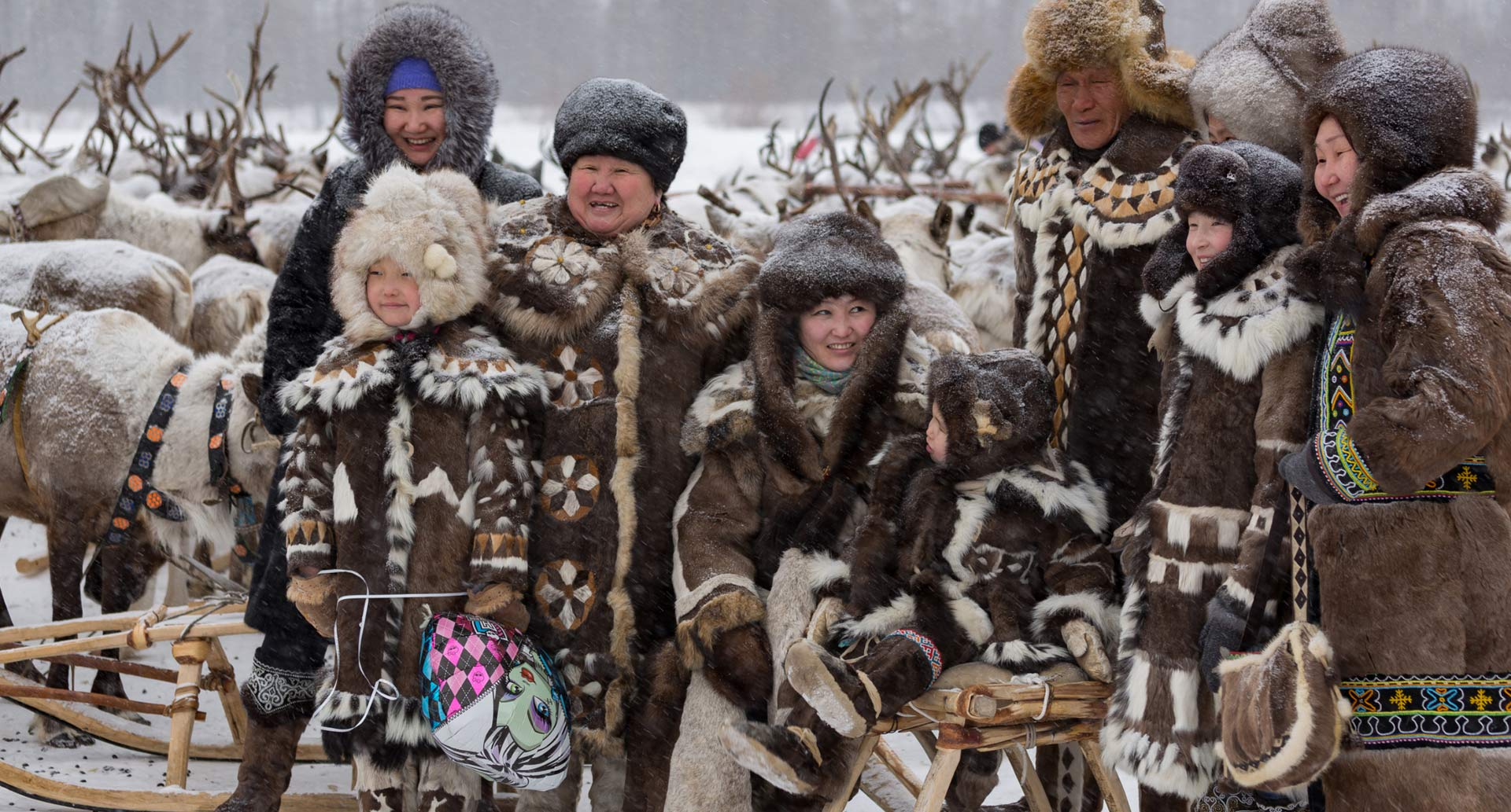 The nomadic people whose lives are increasingly affected by mining in Siberia.