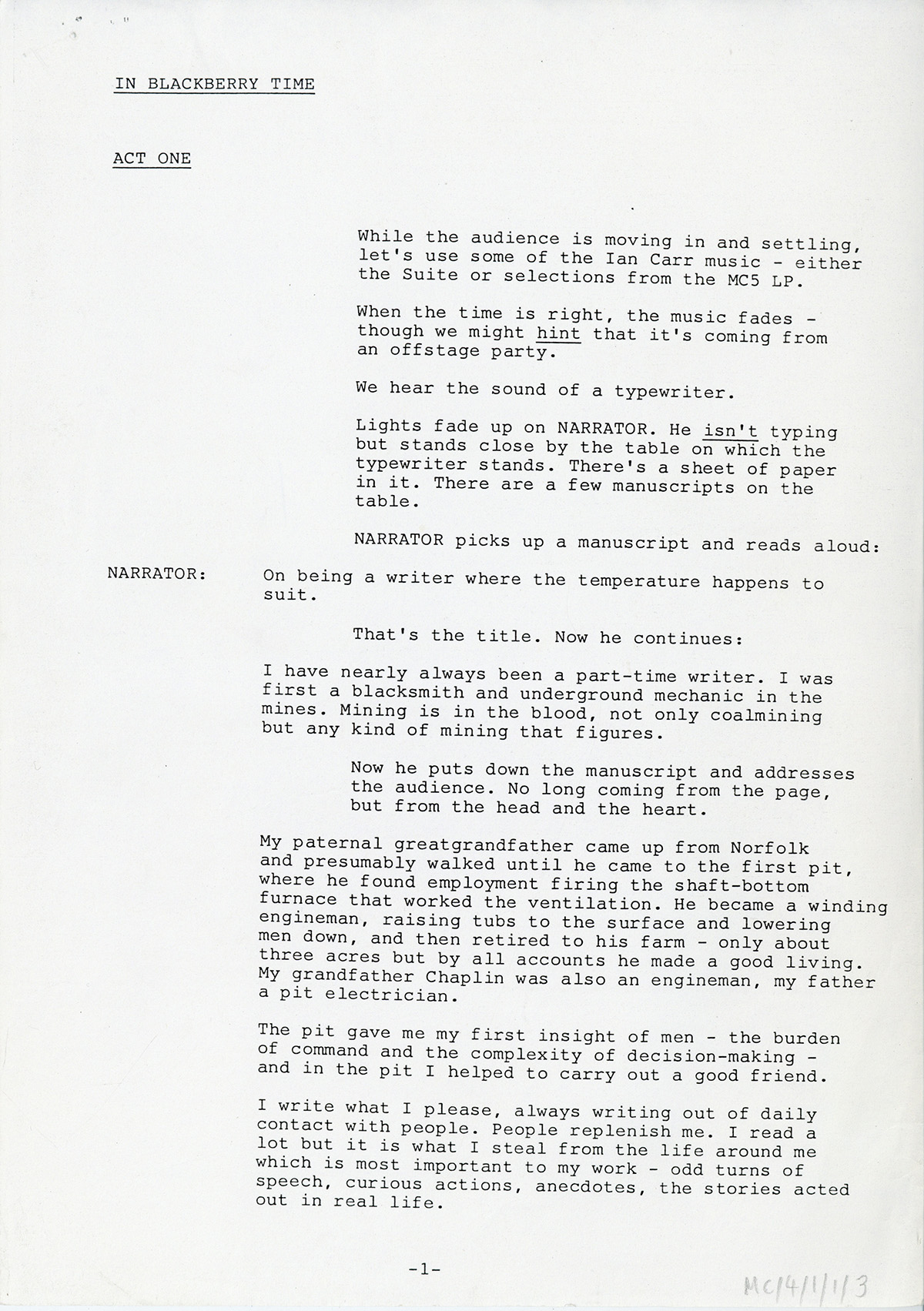 Scanned page from a book - listen to audio below for transcript