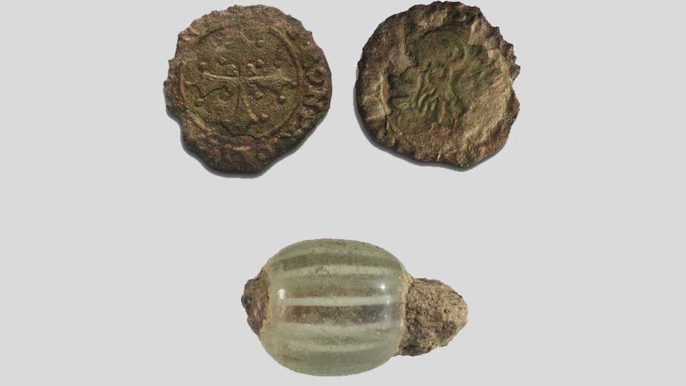 A selection of archaeological finds.
