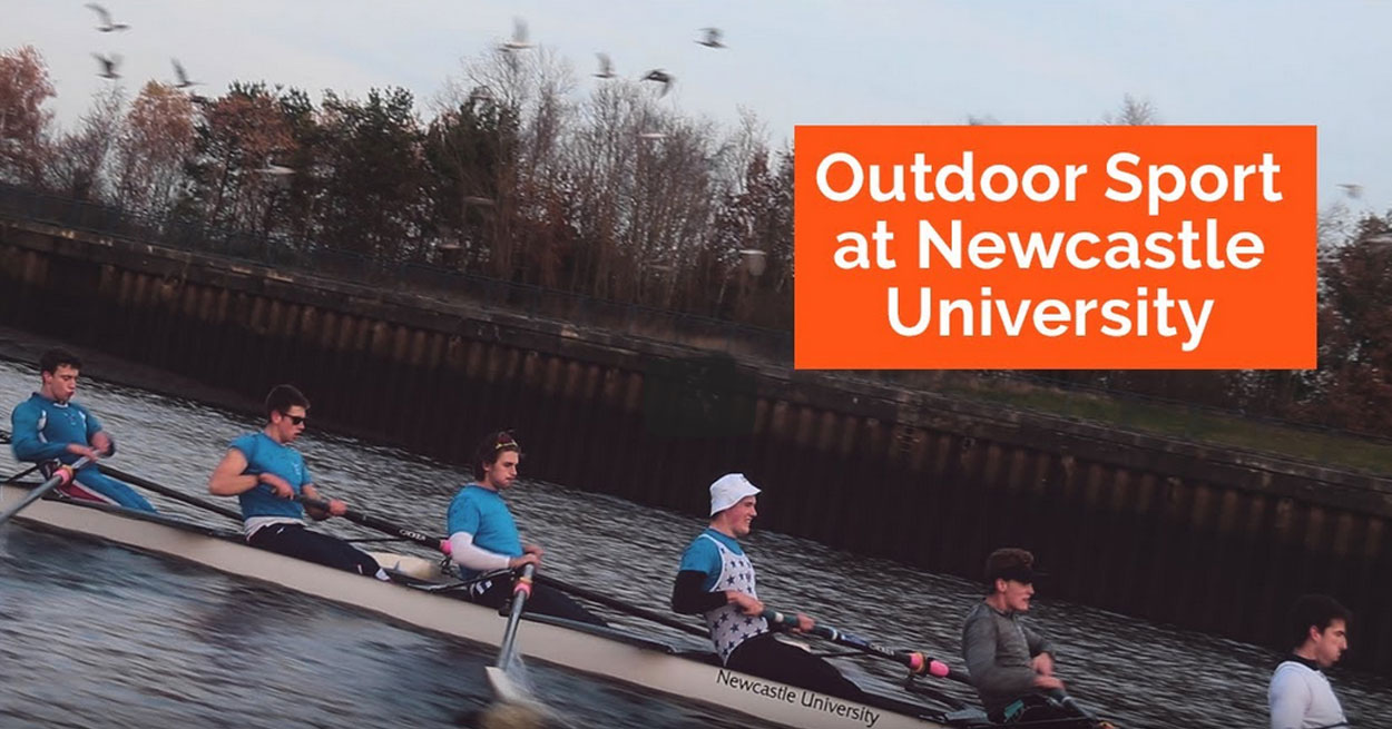 Outdoor sport at Newcastle University