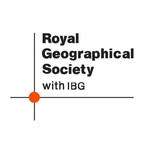 Logo for the Royal Geographic Society (with IBG).