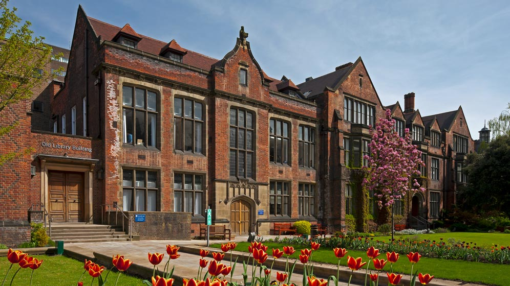 The Old Library Building in the Old Quadrangle