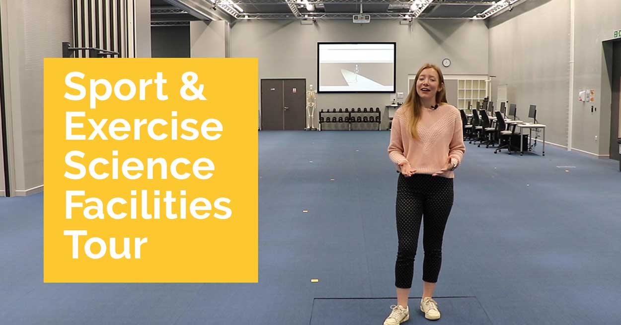 Student led tour of sport and exercise facilities.