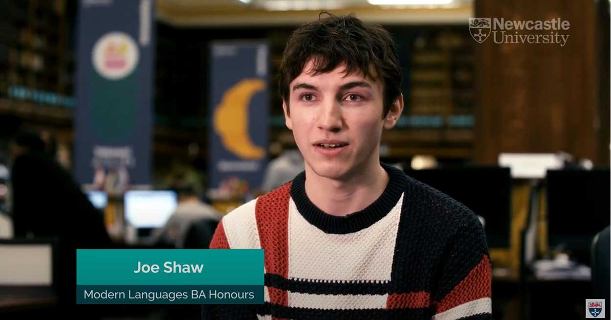 Student's view of Modern Languages degrees